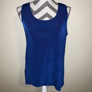 Chico's Travelers Royal Tank Top.